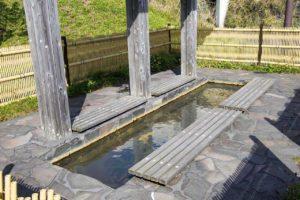 利尻富士温泉の足湯