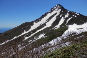 利尻山 登山