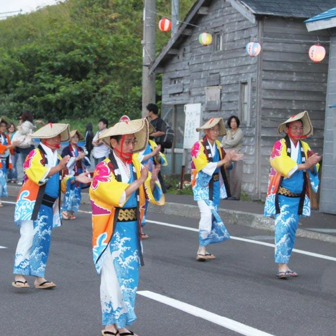 利尻の伝統行事「浮島祭り」!!